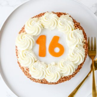 verjaardagstaart slagroom