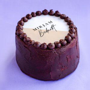 Chocolade Fudge | Bedankt met eigen naam
